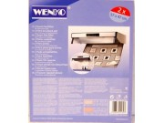 WENKO Steam Flat Cooker Hood Filter (57 x 47cm) x 2